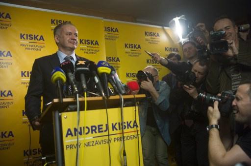 أندريه كيسكا يفوز بالانتخابات الرئاسية في سلوفاكيا
