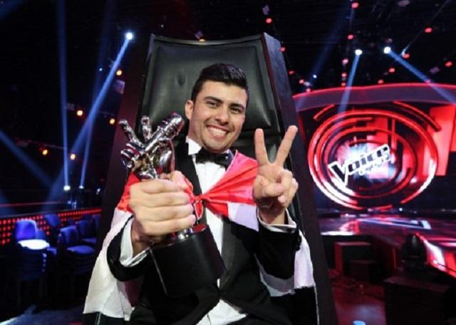 العراقي ستار سعد يحرز لقب برنامج The Voice في موسمه الثاني