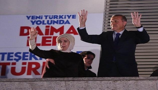 أردوغان يعلن فوز حزبه في الانتخابات المحلية