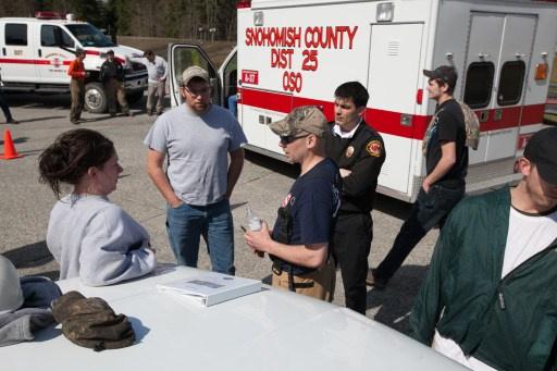 ارتفاع عدد ضحايا انزلاق التربة في ولاية واشنطن الى 21 شخصا