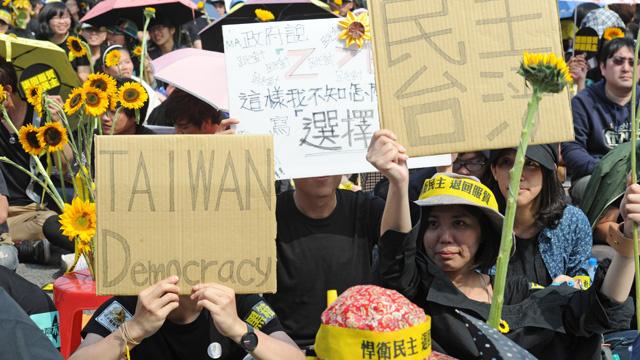 الرئيس التايواني يعارض الانسحاب من اتفاقية اقتصادية مع الصين