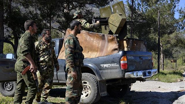 الجيش السوري يشن هجوما واسعا لتحرير بلدة كسب من مسلحي المعارضة