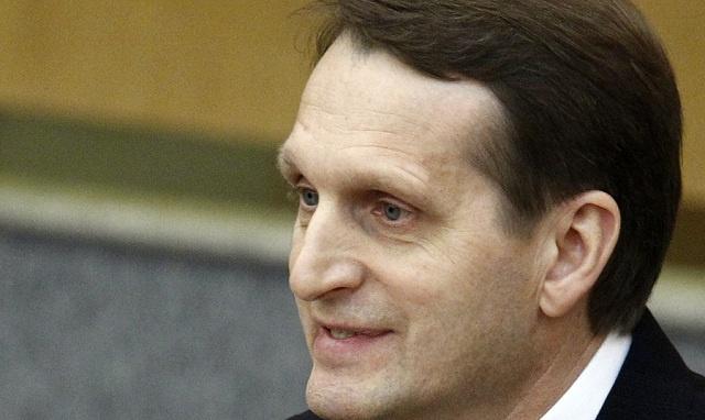 ناريشكين: دعوات تجميد الوفد الروسي في الجمعية البرلمانية لمجلس أوروبا استفزازية