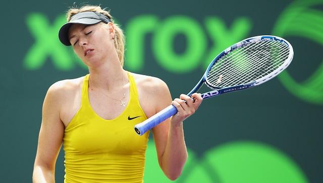شارابوفا تواصل سقوطها الحر في التصنيف العالمي للاعبات التنس