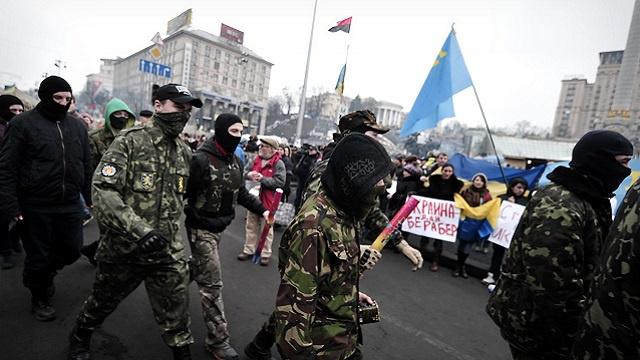 الشرطة الأوكرانية تعتقل مطلق النار وسط كييف