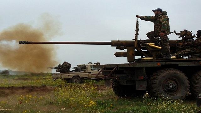 مقتل 20 مسلحا بغارات للجيش السوري على مسلحي جبهة النصرة بحلب