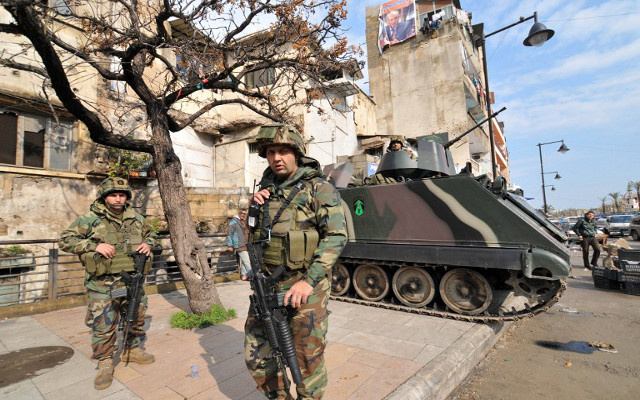 الجيش اللبناني ينفذ خطة أمنية بطرابلس