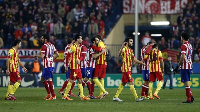 التشكيلة الأساسية لبرشلونة واتلتيكو مدريد في دوري أبطال أوروبا