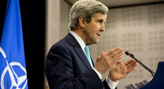 رغم التحرك الفلسطيني.. كيري يتعهد بدفع عملية السلام الى الأمام