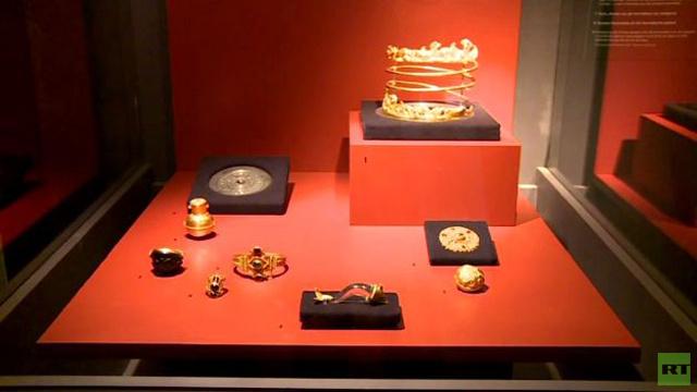 بالفيديو... معرض مكرس لتاريخ القرم الذهبي في هولندا
