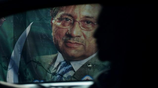 الداخلية الباكستانية ترفض حذف برويز مشرف من قائمتها السوداء