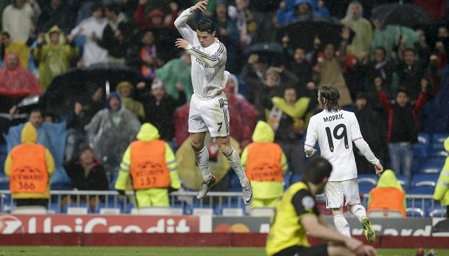 ريال مدريد يهزم بوروسيا بثلاثية ويضع قدماً له في نصف نهائي دوري الأبطال