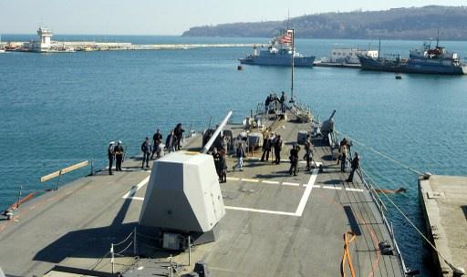 البحرية الأمريكية ترسل قوة إضافية إلى البحر الأسود