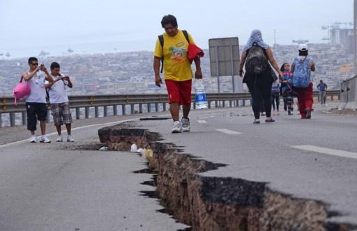 الهزة الأرضية الثالثة خلال يومين بقوة 7.8 قرب سواحل تشيلي (فيديو)
