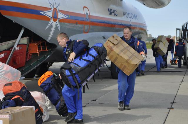 وزارة الطوارئ الروسية أجلت ألف مواطن منذ بدء الأحداث في سورية