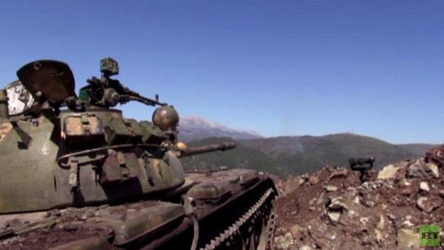 بالفيديو.. الجيش السوري يستعيد المرصد الـ 45