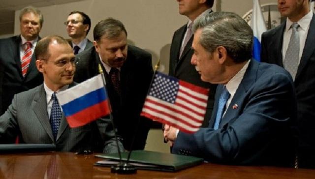 واشنطن تبلغ موسكو بتعليق عدد من المشاريع المشتركة في مجال الطاقة الذرية