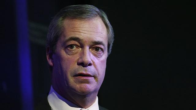زعيم حزب الاستقلال البريطاني: