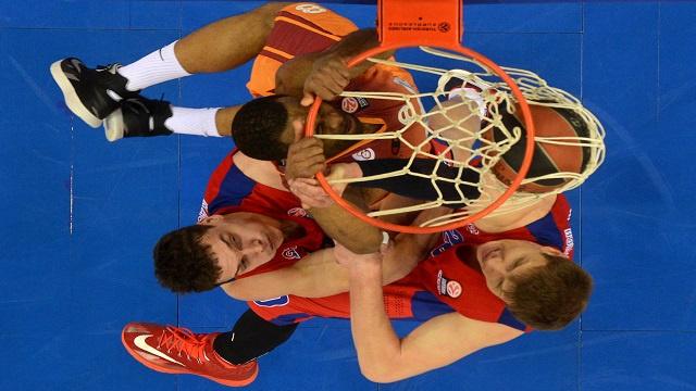 تسيسكا موسكو يهزم غلطة سراي بشق الأنفس في الدوري الأوروبي لكرة السلة