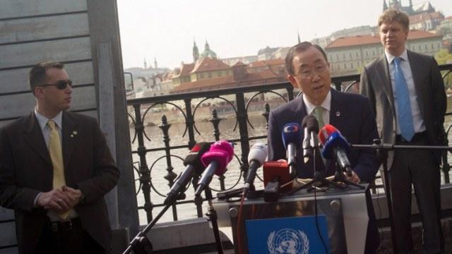بان كي مون يدعو التشيك إلى المشاركة ببعثة الأمم المتحدة في أفريقيا الوسطى