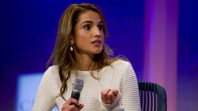 الملكة الأردنية تدعو المجتمع الدولي إلى تكثيف دعمه لللاجئين السوريين