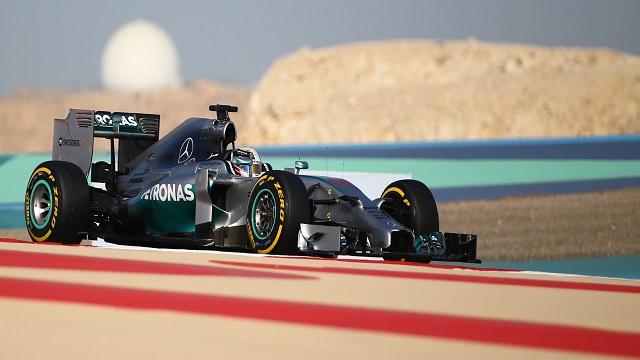 فورمولا1... هاميلتون يواصل الهيمنة على تجارب جائزة البحرين