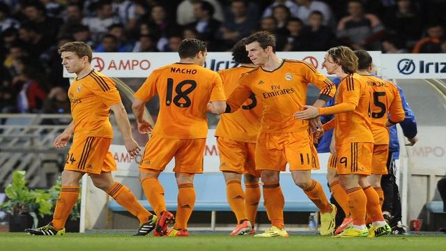 ريال مدريد يضرب حصون سوسييداد برباعية