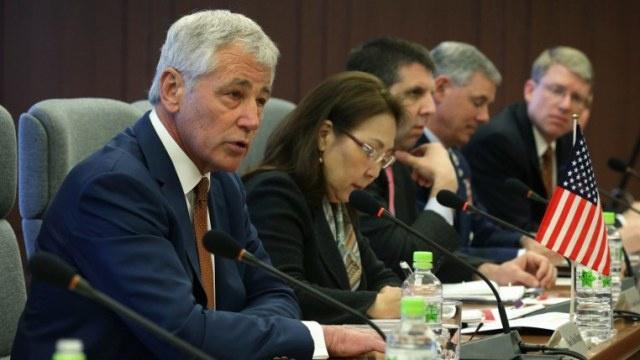 هاغل يدعو الصين إلى احترام جيرانها