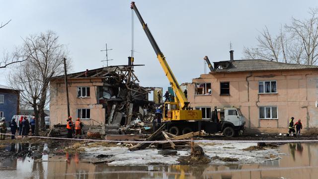 5 قتلى في انفجار انبوب غاز بمقاطعة أومسك في روسيا