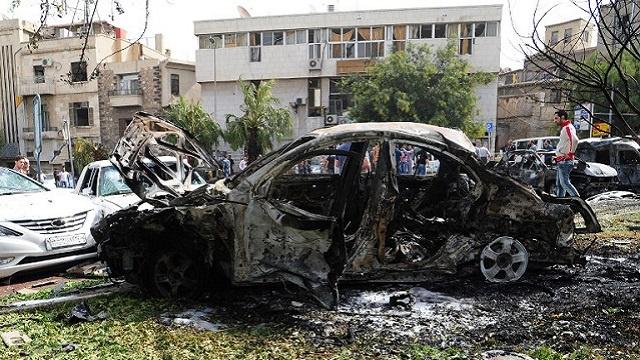 انفجار قنبلة في سيارة بالمنامة خلال سباق الفورمولا 1