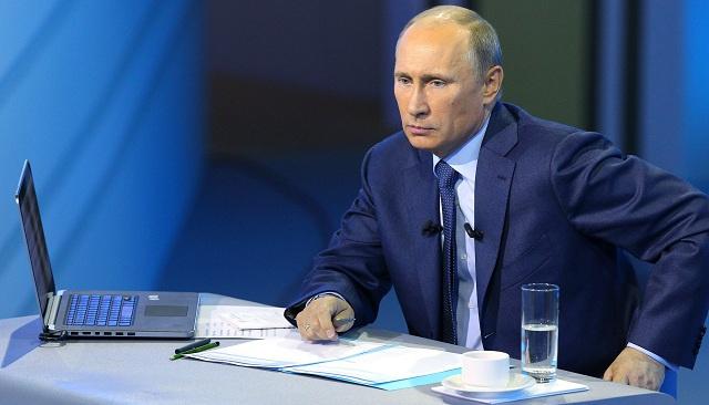بوتين يجيب عن أسئلة المواطنين في حوار تلفزيوني مباشر الخميس 17 أبريل