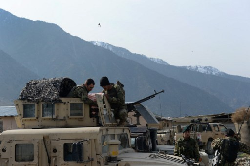مصرع 4 من رجال الشرطة الافغان في انفجار لغم وتصفية 29 مسلحا طالبانيا