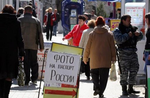 هيئة الهجرة الروسية: 80 الف شخص في القرم حصلوا على الجنسية الروسية