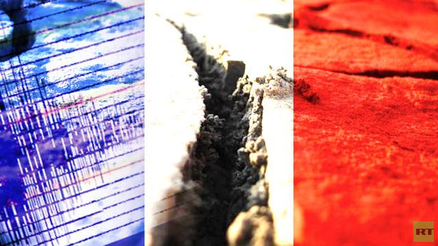 هزة أرضية بقوة 5.2 درجة بمقياس ريختر تضرب جنوب شرق فرنسا