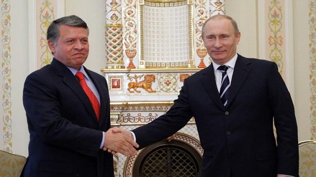 التعاون العسكري والطاقة وسورية على أجندة زيارة ملك الأردن إلى روسيا