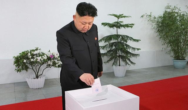 إعادة انتخاب كيم جونغ أون لأعلى سلطة في كوريا الشمالية