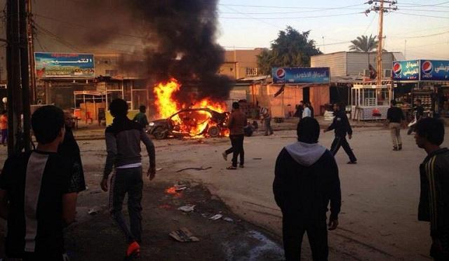 مقتل 18 شخصا على الأقل في سلسلة تفجيرات في العراق