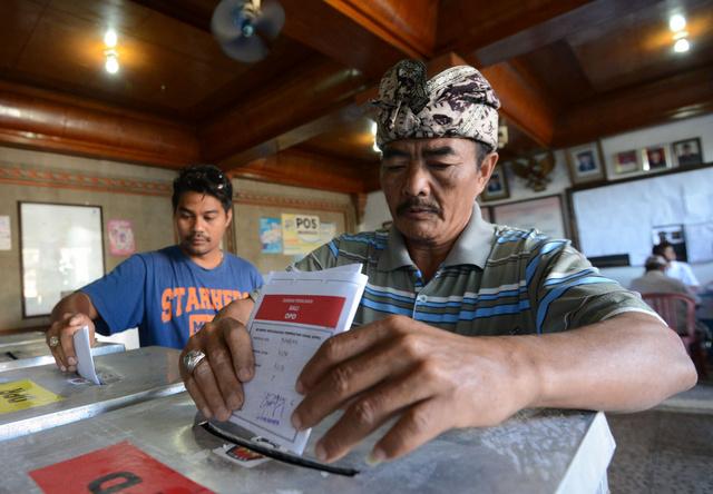 انتخابات برلمانية حاسمة للاستحقاق الرئاسي في إندونيسيا