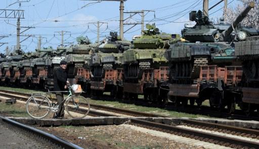 نائب وزير الدفاع الروسي: 350 وحدة تقنية عسكرية تابعة للجيش الأوكراني أُخرجت من القرم