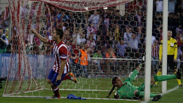 أتلتيكو مدريد يفجر مفاجأة كروية بإطاحته بضيفه برشلونة من دوري الأبطال