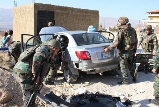 الجيش اللبناني يوقف سبعة مسلحين سوريين ولبنانيا بتهمة الارهاب في عرسال