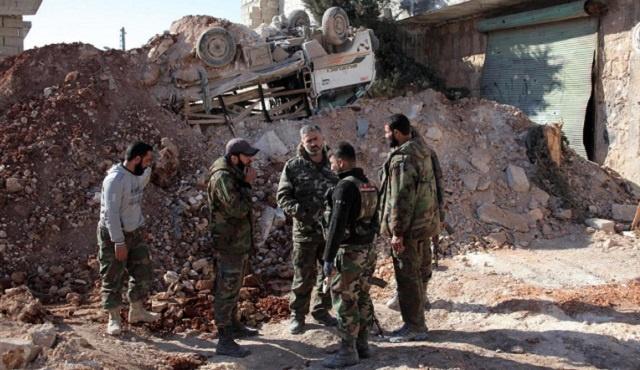 الجيش السوري يسيطر على بلدة رنكوس بريف دمشق