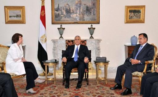 اشتون: الاتحاد الأوروبي يقف إلى جوار مصر في محاربة الإرهاب