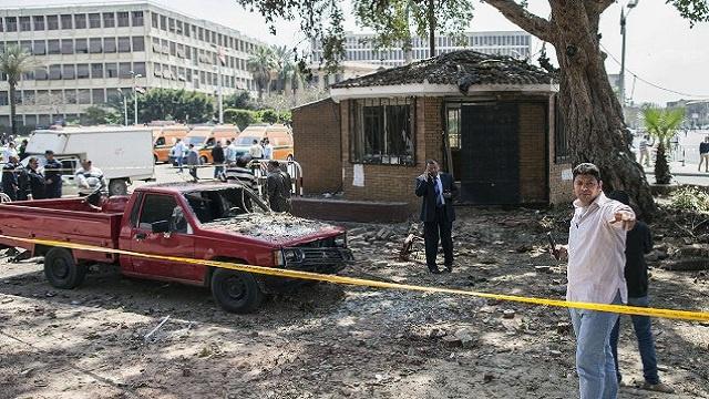 إصابة ضابط في انفجار بمدينة 6 أكتوبر بمصر