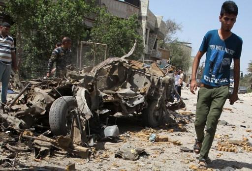 مقتل 10 أشخاص في تفجيرين ببغداد والقضاء على 44 مسلحا في الفلوجة