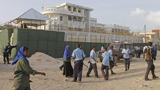 هجوم صاروخي على مبنى تابع للسفارة التركية في الصومال