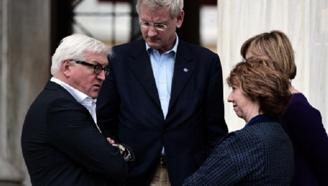 اجتماع وزاري أوروبي لبحث القرم ودعم أوكرانيا.. وتوسيع العقوبات على روسيا غير مطروح