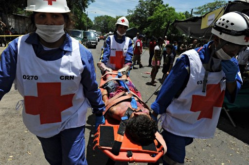 مصرع شخص وإصابة العشرات في زلزلال ضرب نيكاراغوا