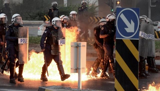 إصابة شرطي بحريني في انفجار جديد غربي المنامة