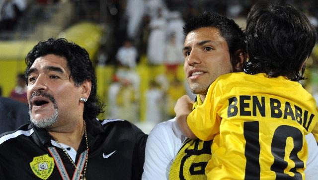 بالفيديو .. حفيد مارادونا يحمل جينات جده الكروية